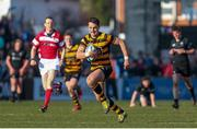 17 March 2016; James Hume, RBAI, in action against Campbell College. Danske Bank Ulster Schools' Cup Final, RBAI v Campbell College, Kingspan Stadium, Ravenhill Park, Belfast. Picture credit: John Dickson / SPORTSFILE