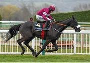 18 March 2016; Don Cossack, with Bryan Cooper up, on their way to winning the Timico Cheltenham Gold Cup Steeple Chase. Prestbury Park, Cheltenham, Gloucestershire, England. Picture credit: Cody Glenn / SPORTSFILE