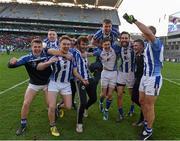 17 March 2016; Ballyboden St Endas players celebrate. AIB GAA Football All-Ireland Senior Club Championship Final, Ballyboden St Endas, Dublin, v Castlebar Mitchels, Mayo. Croke Park, Dublin. Picture credit: Ray McManus / SPORTSFILE