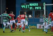 18 March 2016; Billy Dennehy, 20, St Patrick's Athletic, scores his side's first goal. SSE Airtricity League Premier Division, Shamrock Rovers v St Patrick's Athletic. Tallaght Stadium, Tallaght, Dublin. Picture credit: David Maher / SPORTSFILE