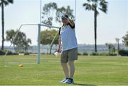 18 March 2016; Coach Eamonn Ryan during a training session in the US Olympic Training Center, in Chula Vista, ahead of the TG4 Ladies Football All Star game. TG4 Ladies Football All-Star Tour, US Olympic Training Center, Chula Vista, California, USA. Picture credit: Brendan Moran / SPORTSFILE