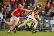 14 March 2010; John Dalton, Kilkenny, in action against Mark O'Sullivan, Cork. Allianz GAA Hurling National League, Division 1, Round 3, Cork v Kilkenny, Pairc Ui Chaoimh, Cork. Picture credit: Brendan Moran / SPORTSFILE