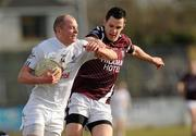 21 March 2010; James Kavanagh, Kildare, in action against Mark Dalton, Westmeath. Allianz GAA National Football League, Division 2, Round 5, Kildare v Westmeath, St Conleth's Park, Newbridge, Co. Kildare. Picture credit: Ray McManus / SPORTSFILE