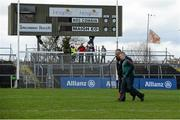 27 March 2016; Mayo manager Stephen Rochford, right, and selector Donie Buckley walk the pitch before the game. Allianz Football League Division 1 Round 6, Roscommon v Mayo. Dr Hyde Park, Roscommon.  Picture credit: Brendan Moran / SPORTSFILE
