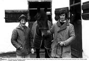 1976; Brown Lad with jockey Tommy Carberry, left, and trainer Jim Dreaper after winning the Irish Grand National for the second consecutive year. Picture credit; Connolly Collection / SPORTSFILE