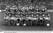 24 September 1978; The Kerry team. Back row, from left, Jack O'Shea, Eoin Liston, John O'Keeffe, Charlie Nelligan, Tim Kennelly, Sean Walsh and Pat Spillane. Front row, from left, Mikey Sheehy, Paudie O'Shea, Paudie Lynch, Denis Ogie Moran, John Egan, Ger Power, Mick Spillane, Jimmy Deenihan. All Ireland Senior Football Championship Final, Kerry v Dublin, Croke Park, Dublin. Picture credit: Connolly Collection / SPORTSFILE