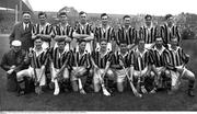 1958; The Kilkenny team. Leinster Senior Hurling Championship Final, Kilkenny v Wexford, Croke Park, Dublin. Picture credit; Connolly Collection / SPORTSFILE