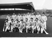 21 February 1960; The Ulster team. Railway Cup Senior Hurling Semi-Final, Leinster v Ulster, Croke Park, Dublin. Picture credit; Connolly Collection / SPORTSFILE