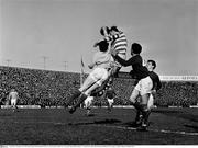 2 April 1966; A general view of the drawn game between Shamrock Rovers and Waterford United. FAI Cup Semi-Final, Shamrock Rovers v Waterford United, Dalymount Park, Dublin. Picture credit; Connolly Collection / SPORTSFILE