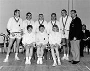1965; The West Germany team. Badminton International, Dublin. Picture credit; Connolly Collection / SPORTSFILE