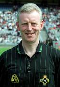 5 May 2001; Pat Aherne, Referee, hurling, Dublin. Picture credit; Pat Murphy / SPORTSFILE