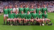 5 May 2001; St Colman's, Fermoy hurling team, Gort Community School v St Colman's, Fermoy, All-Ireland Colleges Senior 'A' Hurling Final, Croke Park, Dublin. Hurling. Picture credit; Ray McManus / SPORTSFILE