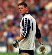 27 May 2001; Stephen Cluxton, Dublin goalkeeper. Football. Picture credit; Damien Eagers / SPORTSFILE