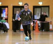 31 March 2010; John Somers, Republic of Ireland. International Futsal Friendly, Republic of Ireland v Norway, National Basketball Arena, Tallaght, Dublin. Picture credit: Matt Browne / SPORTSFILE