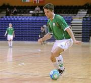 31 March 2010; Mark Langtry, Republic of Ireland. International Futsal Friendly, Republic of Ireland v Norway, National Basketball Arena, Tallaght, Dublin. Picture credit: Matt Browne / SPORTSFILE