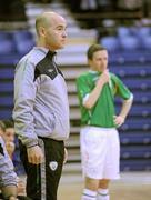 31 March 2010; Republic of Ireland assistant coach Stephen Finn. International Futsal Friendly, Republic of Ireland v Norway, National Basketball Arena, Tallaght, Dublin. Picture credit: Matt Browne / SPORTSFILE