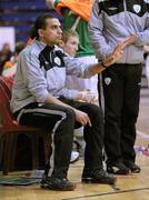 31 March 2010; Republic of Ireland assistant coach Junior Da Silva. International Futsal Friendly, Republic of Ireland v Norway, National Basketball Arena, Tallaght, Dublin. Picture credit: Matt Browne / SPORTSFILE
