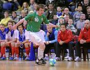 31 March 2010; Alan Lynch, Republic of Ireland. International Futsal Friendly, Republic of Ireland v Norway, National Basketball Arena, Tallaght, Dublin. Picture credit: Matt Browne / SPORTSFILE