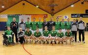 31 March 2010; The Republic of Ireland squad. International Futsal Friendly, Republic of Ireland v Norway, National Basketball Arena, Tallaght, Dublin. Picture credit: Matt Browne / SPORTSFILE