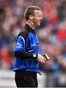 3 April 2016; Referee Joe McQuillan. Allianz Football League Division 1 Round 7, Mayo v Down. Elverys MacHale Park, Castlebar, Co. Mayo. Picture credit: David Maher / SPORTSFILE