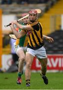 3 April 2016; Colin Fennelly, under pressure from Offaly's Conor Doughan, scores the third Kilkenny goal. Allianz Hurling League Division 1 Quarter-Final, Kilkenny v Offaly. Nowlan Park, Kilkenny. Picture credit: Ray McManus / SPORTSFILE