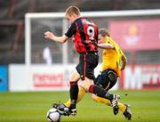 6 April 2010; Paddy Madden, Bohemians, in action against Conor Kenna, St. Patrick's Athletic. Airtricity League, Premier Division, Bohemians v St. Patrick's Athletic, Dalymount Park, Dublin. Picture credit: David Maher / SPORTSFILE