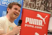 7e756b8b0d9 7 April 2010; Puma Ireland rugby star Gordon D'Arcy pictured at Lifestyle  Sports