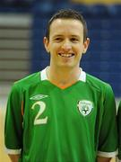 30 March 2010; Ross Zambra, Republic of Ireland. International Futsal Friendly, Republic of Ireland v Norway, National Basketball Arena, Tallaght, Dublin. Picture credit: Paul Mohan / SPORTSFILE