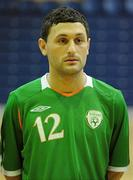 30 March 2010; Alan McCabe, Republic of Ireland. International Futsal Friendly, Republic of Ireland v Norway, National Basketball Arena, Tallaght, Dublin. Picture credit: Paul Mohan / SPORTSFILE
