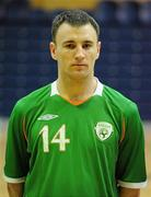 30 March 2010; Stephen Murphy, Republic of Ireland. International Futsal Friendly, Republic of Ireland v Norway, National Basketball Arena, Tallaght, Dublin. Picture credit: Paul Mohan / SPORTSFILE