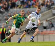 2c22ed28f98 10 April 2010; Caolan Gough, St Colman's, in action against Sean McCarthy,