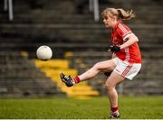 3 April 2016; Emma Farmer, Cork. Lidl Ladies Football National League Division 1, Galway v Cork. St Jarlath's Stadium, Tuam, Co. Galway. Picture credit: Sam Barnes / SPORTSFILE