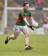 3 April 2016; Patrick Durcan, Mayo. Allianz Football League Division 1 Round 7, Mayo v Down. Elverys MacHale Park, Castlebar, Co. Mayo. Picture credit: David Maher / SPORTSFILE