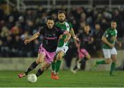 8 April 2016; Eric Molloy, Wexford Youths, in action against Greg Bolger, Cork City. SSE Airtricity League Premier Division, Cork City v Wexford Youths. Turners Cross, Cork. Picture credit: Eóin Noonan / SPORTSFILE