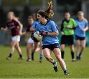 10 April 2016; Niamh Collins, Dublin. Lidl Ladies Football National League, Division 1, Dublin v Galway, Parnell Park, Dublin. Picture credit: Sam Barnes / SPORTSFILE