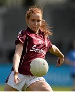 10 April 2016; Lisa Gannon, Galway. Lidl Ladies Football National League, Division 1, Dublin v Galway, Parnell Park, Dublin. Picture credit: Sam Barnes / SPORTSFILE