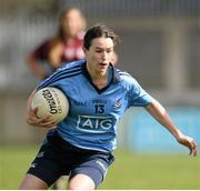 10 April 2016; Roisin Leonard, Dublin. Lidl Ladies Football National League, Division 1, Dublin v Galway, Parnell Park, Dublin. Picture credit: Sam Barnes / SPORTSFILE