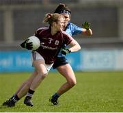 10 April 2016; Noelle Connolly, Galway. Lidl Ladies Football National League, Division 1, Dublin v Galway, Parnell Park, Dublin. Picture credit: Sam Barnes / SPORTSFILE