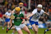 17 April 2016; Paul Browne, Limerick, in action against Shane Bennett, Waterford. Allianz Hurling League, Division 1, semi-final, Waterford v Limerick. Semple Stadium, Thurles, Co. Tipperary. Picture credit: Ray McManus / SPORTSFILE