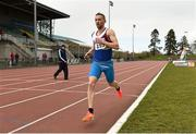 16 April 2016; Niall McCormack, University of Limerick, during the Mens 5000M event. Irish Universities Athletic Association Track & Field Championships 2016, Day 1. Morton Stadium, Santry, Co. Dublin. Picture credit: Oliver McVeigh / SPORTSFILE