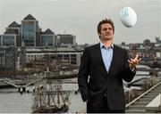 19 April 2016; All Black legend and AIG ambassador Richie McCaw was in Dublin to help promote AIG Insurance's Telematics car insurance. The product, aimed at 21-34 year olds, is designed to encourage and reward safe driving in Ireland by offering up to a 30% discount to those who display high standards of driving. For more information log on to www.aig.ie or call 1890 27 27 27. AIG, International Financial Services Centre, Dublin. Picture credit: Stephen McCarthy / SPORTSFILE