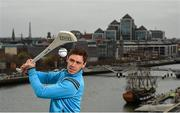19 April 2016; Dublin hurler Paul Schutte at the launch of AIG Insurance's Telematics car insurance. The product, aimed at 21-34 year olds, is designed to encourage and reward safe driving in Ireland by offering up to a 30% discount to those who display high standards of driving. For more information log on to www.aig.ie or call 1890 27 27 27. AIG, International Financial Services Centre, Dublin. Picture credit: Stephen McCarthy / SPORTSFILE