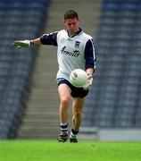 27 May 2001; Stephen Cluxton, Dublin goalkeeper, Football. Picture credit; Brendan Moran / SPORTSFILE