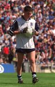 22 May 2001; Stephen Cluxton, Dublin goalkeeper, Football. Picture credit; Brendan Moran / SPORTSFILE