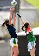 23 April 2016; Lorraine Scanlon, Kerry, in action against Clodagh McManamon, Mayo. Lidl Ladies Football National League, Division 1, semi-final, Mayo v Kerry. St Brendan's Park, Birr, Co. Offaly. Picture credit: Ramsey Cardy / SPORTSFILE