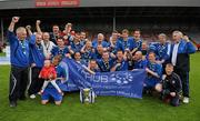 9 May 2010; Crumlin United FC celebrate after the game. FAI Umbro Intermediate Cup Final, Crumlin United FC v Avondale United FC, Dalymount Park, Dublin. Picture credit: Paul Mohan / SPORTSFILE