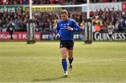 30 April 2016; Ian Madigan, Leinster, after his warm-up. Guinness PRO12, Round 21, Ulster v Leinster. Kingspan Stadium, Ravenhill Park, Belfast, Co. Antrim. Picture credit: Stephen McCarthy / SPORTSFILE