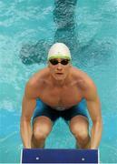 1 May 2016; Shane Ryan, National Aquatic Centre SC, competing in the Men's 50m Backstroke Semi-Final. Irish Open Long Course Swimming Championships, National Aquatic Centre, National Sports Campus, Abbotstown, Dublin. Picture credit: Sam Barnes / SPORTSFILE