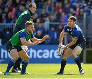 2 May 2016; Leinster's Isaac Boss, right, and Ian Madigan during squad training at the RDS, Ballsbridge, Dublin. Picture credit: Stephen McCarthy / SPORTSFILE
