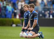 2 May 2016; Leinster's Dominic Ryan and Jordi Murphy, left, during squad training at the RDS, Ballsbridge, Dublin. Picture credit: Stephen McCarthy / SPORTSFILE